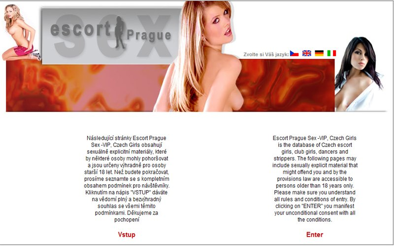 Escort Prague Sex